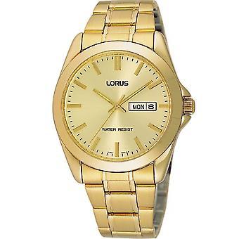 Lorus RJ608AX-9 Gold Tone Stainless Steel Wristwatch