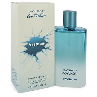 Cool Water Freeze Me Eau De Toilette Spray By Davidoff 4.2 oz Eau De Toilette Spray