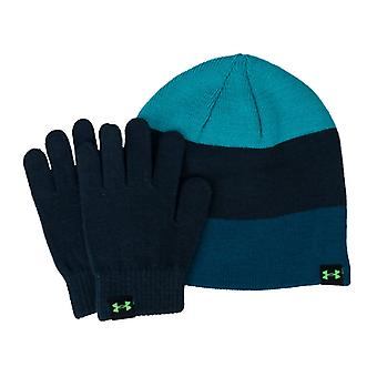 Accessories Under Armour Beanie and Glove Set in Blue