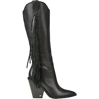 Sam Edelman Ezgl071007 Women's Black Leather Boots