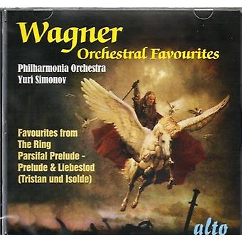 R. ワーグナー - ワーグナー: 管弦楽のお気に入り [CD] USA 輸入