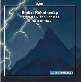 Kabalevsky / Korstick - Kabalevsky / Korstick: Complete Piano Sonatas [CD] USA import
