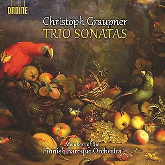 Graupner / Finnish Baroque Orch - Trio Sons [CD] USA import