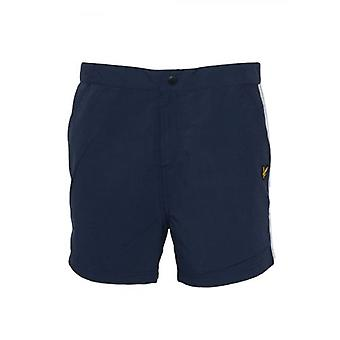 Shorts de bain Lyle & Scott Navy Side Stripe