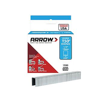 Arrow T50 Staples 12mm (1/2in) Box 1250 ARRT5012S