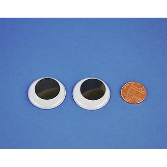 1 Paire 30mm Craft Googly Eyes| Wiggly Wobbly Eyes