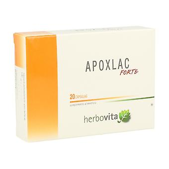 Apoxlac Forte 20 capsules of 665mg