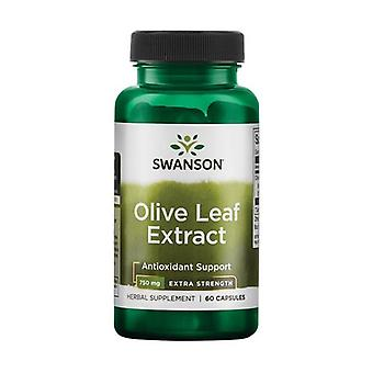 Olive Leaf Extract 750 mg Super Strength 60 capsules