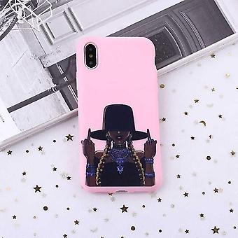 F-you fille tresses chapeau premium qualité shell iPhone11 Pro