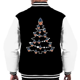 Thunderbirds Weihnachtsbaum John Tracy Men's Varsity Jacke