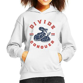 Divide & Conquer Rattlesnake Kid's Hooded Sweatshirt