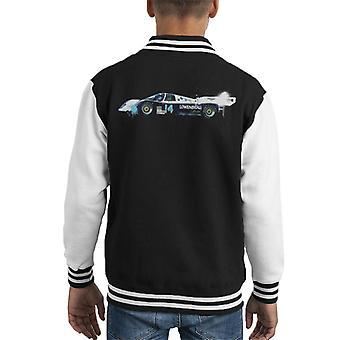 Motorsport Images Al Unser Jr Daytona 1985 Kid's Varsity Jacket