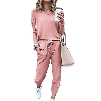 Femei Baggy Top & Pantaloni Casual Wear Sport Lounge Trening