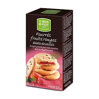 Cookies stuffed with red fruits 5 units of 35g