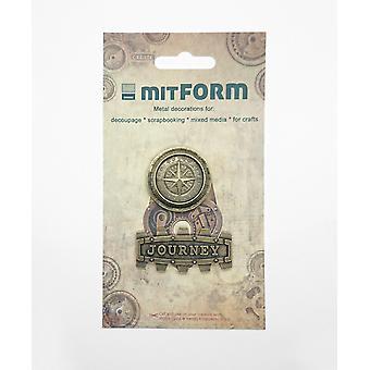 Mitform Travel 5 Metal Embellishments