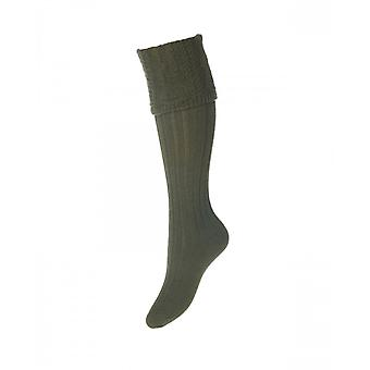 House of Cheviot Welly Socks Lady Glenmore ~ Spruce