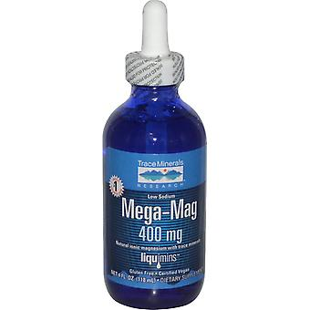 Trace Minerals Research, Mega-Mag, Natural Ionic Magnesium met Trace Minerals,