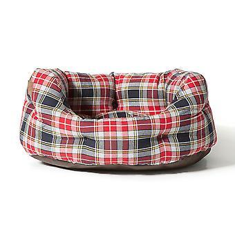 Danish Design Lumberjack Red/Grey Deluxe Slumber Bed - (101cm/40 inch)