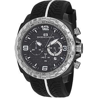 Oceanaut Men's Racer Black Dial Watch - OC1120