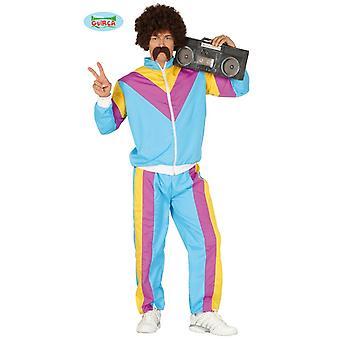 80s 90s ASI Prolet para correr para hombre traje traje traje de carrito Jogger
