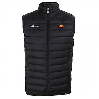 Ellesse Bardy Quilted Black Puffer Gilet
