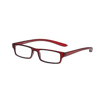 Gafas de lectura Unisex Le-0150M Mono-II espesor rojo +2.00