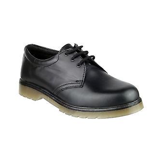 Amblers hommes-apos;s achevin en cuir gibson noir 03317