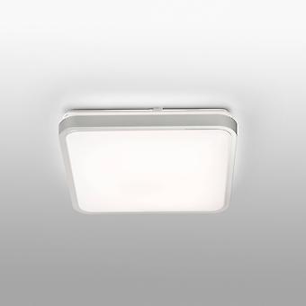 LED suuri kylpyhuone huuhtelukattovalaisin valkoinen, harmaa