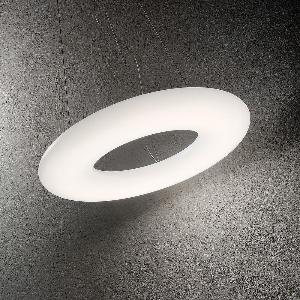 Integrated LED Large Ceiling Pendant Light White