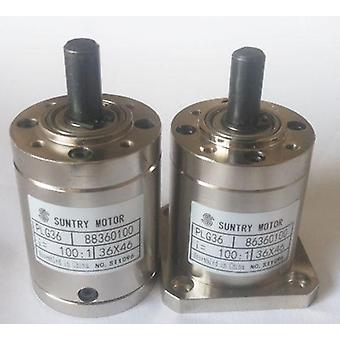 Planetary Reducer Planet Gearbox Round Flange Square Input