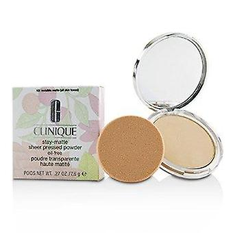 Stay Matte Powder Oil Free - No. 101 Invisible Matte 7.6g or 0.27oz