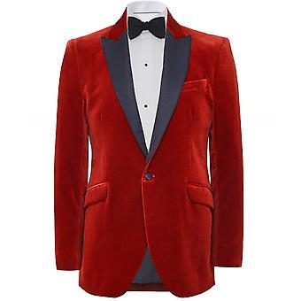 Favourbrook Slim Fit Velvet Dinner Jacket