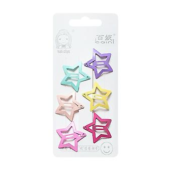 Metal Hair Clip- Cute Cartoon Shape Bb Clips, Hairpins