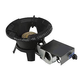 Low Pressure Natural Gas Liquefied Gas Burner With Fan