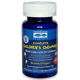 Trace Minerals Complete Children's Chewable, 2 Wafers
