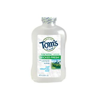 Tom's of Maine Long Lasting Wicked Fresh الفم، كول ماونتن مينت 16 أوقية