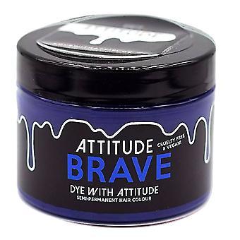 Attitude Semi Permanent Cruelty-free & Vegan Hair Dye - Brave Blue 135ml