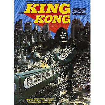 King Kong Movie Poster (11 x 17)