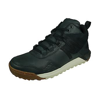 Merrell Indeway Mid Leather Mens Trainers / Zapatos - Negro
