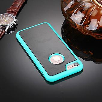 Für iPhone 8 & 7 Anti-Gravity magische Nano-Saug-Technologie Sticky Selfie Schutzhülle (grün)