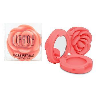 Rose Shaped Long Lasting Moisturising Lip balm/Lip Gloss with Mini Mirror - Nude