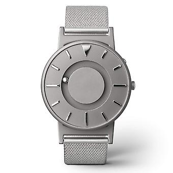 Eone BR-C-MESH Bradley Mesh Silver Titanium & Stainless Steel Watch