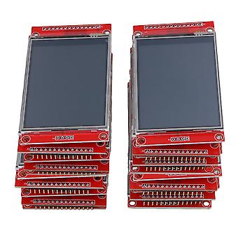 20PCS LCD Touch Panel 240 x 320 2.8Inch SPI TFT Serial Port Module With PBC ILI9341