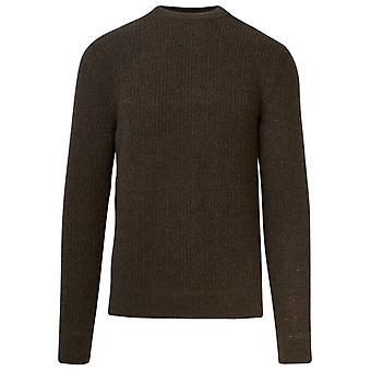 Lardini Lmml18255031500ma Men's Green Wool Sweater