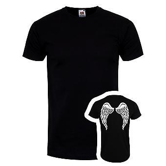 Grindstore Mens Angel Wings T-Shirt