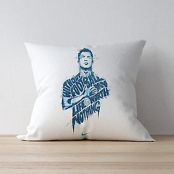 Nothing without football pillow/cushion
