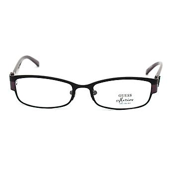Ladies'Spectacle frame Guess Marciano GM111-BLACK Black Purple (ø 52 mm)