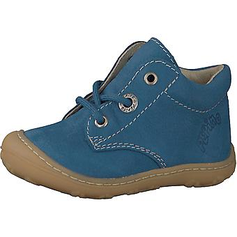 RICOSTA Laced Small Boot Light Blue