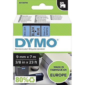 Etikettering tape DYMO D1 40916 Tape kleur: blauw lettertype kleur: zwart 9 mm 7 m