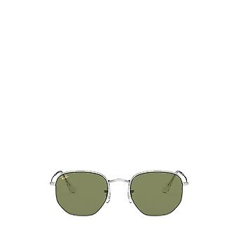 راي بان RB3548 فضة النظارات الشمسية للجنسين